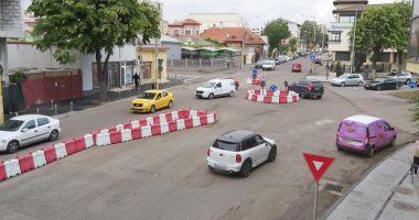 Atenție, șoferi! Trafic restricționat total pe un tronson al străzii I.G. Duca din Constanța