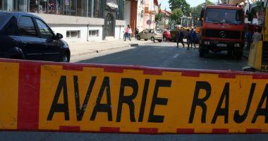Atenție, șoferi! Trafic îngreunat pe strada Călărași din Constanța. Se lucrează la o conductă de apă