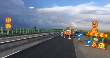 Atenție, şoferi! Lucrări pe Autostrada Soarelui