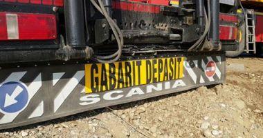 Atenție, șoferi! Transport agabaritic pe ruta Buzău - Constanța (Poarta 7)