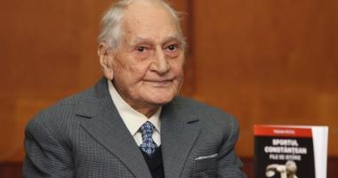 Atletul veteran Traian Petcu, cetăţean de onoare al Constanţei