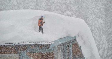 Iarna face ravagii în Austria. Avalanşele şi căderile masive de zăpadă au provocat cinci morţi, iar două persoane sunt dispărute
