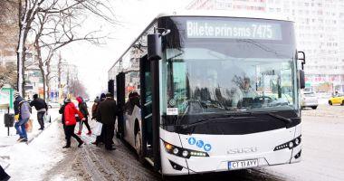 Autobuze noi pe traseele din Constanţa.  În fiecare maşină se află un poliţist local