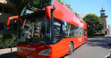 Cum circulă autobuzele etajate CT Bus