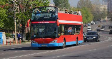 Autobuzele etajate, pe trasee în minivacanţa de Paște şi 1 Mai