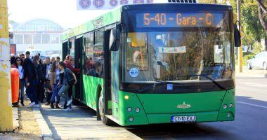 Călătoriţi cu autobuzul 5-40? Atenţie! Traseul liniei va fi deviat!