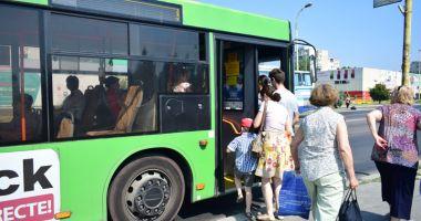 Traseu deviat pentru autobuzele de pe linia 5 - 40, astăzi şi mâine