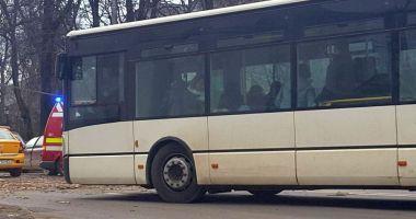 Autocar implicat într-un accident rutier, la Mangalia. Sunt două victime!