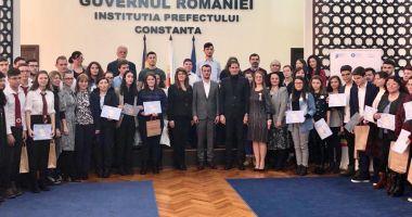 Autoritățile au premiat câștigătorii concursului