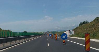 Şoferi, atenţie! Se lucrează pe Autostrada Soarelui!