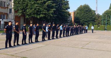 Avansări în grad la Gruparea de Jandarmi Mobilă