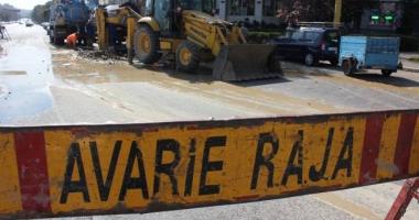 Atenţie, şoferi! Trafic blocat pe strada Barbu Ştefănescu Delavrancea din Constanţa