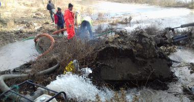 AVARIE RAJA. Fără apă rece în localităţile Ovidiu şi Năvodari, până mâine după-amiază