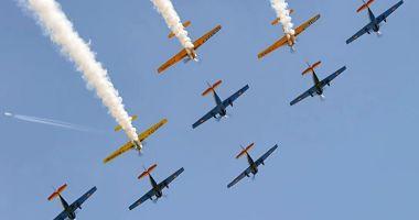 Cum este sărbătorită Ziua Aviației Române și a Forțelor Aeriene