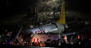 Avion al companiei Pegasus, RUPT în două la aterizare! 177 de persoane erau la bord