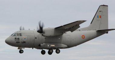 Misiune specială pentru o aeronavă de tip C-27J Spartan. Cine a pilotat-o și pe cine a transportat