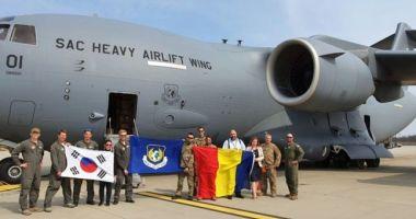 Al treilea transport aerian cu echipamente medicale din Coreea de Sud