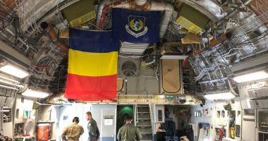Transport aerian special din Coreea de Sud, cu o aeronavă NATO. Cine este pilotul