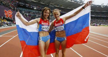 Atleţii ruşi vor concura sub drapel neutru. Agenţia Mondială de Antidopaj nu iartă