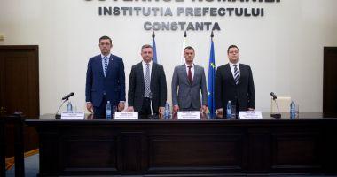 Ionuț Done, învestit oficial ca subprefect al județului Constanța