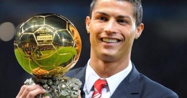 Cristiano Ronaldo a câştigat Balonul de Aur. Clasamentul complet