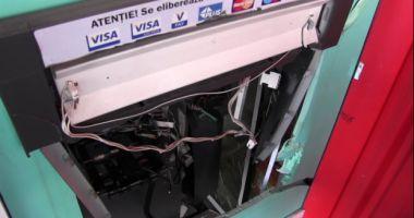 Un tânăr de origine albaneză, arestat în cazul exploziei unui bancomat din Arad