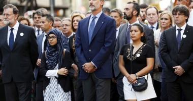 Barcelona, 500.000 de oameni  în stradă împotriva terorismului