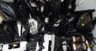 Băuturi alcoolice, în valoare de 18.560 lei, reținute de vameși