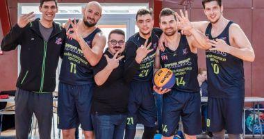 BC Athletic, cap de serie la ultimele turnee ale Cupei României de baschet 3x3