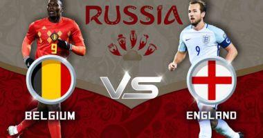 CM 2018, finala mică. Belgia vs Anglia, de la ora 17:00. Bătălia pentru medaliile de bronz