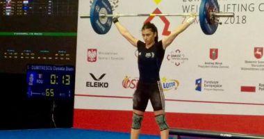 Bianca Dumitrescu, locul 5  la Europenele de haltere