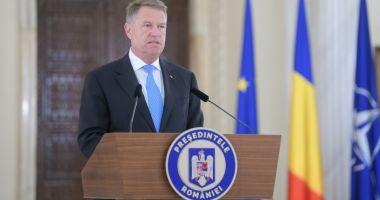 LIVE TEXT / Iohannis, principalele declaraţii de presă