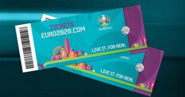 Interes major pentru EURO 2020. Cum și când cumperi bilete la meciuri