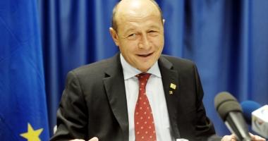 Fostul preşedinte Traian Băsescu  va primi un spaţiu ca birou de lucru