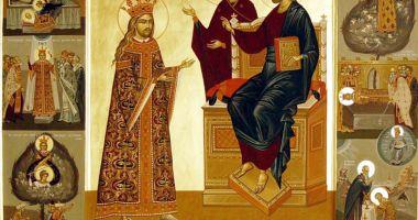 Biserica  îl comemorează pe sfântul voievod Ştefan cel Mare