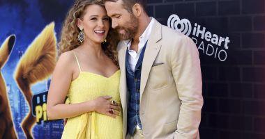 Blake Lively este însărcinată cu al treilea copil
