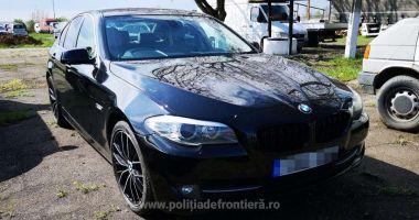 BMW căutat de autoritățile din Marea Britanie, descoperit în România