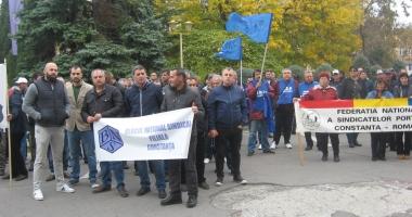 BNS protestează, astăzi, la Constanţa