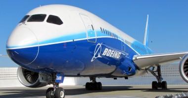 Boeing 787 Dreamliner are probleme: scurgeri de carburanţi provocate de erori de fabricaţie