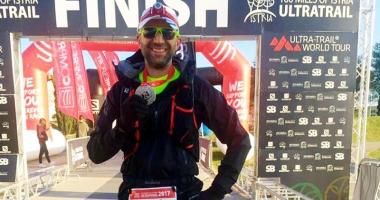 """Bogdan Ofiţeru şi Mihai Nenciu au terminat  cursa de ultramaraton  """"100 Miles of Istria"""""""
