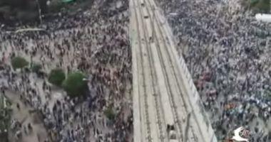 VIDEO / O bombă a explodat în mijlocul mulţimii în capitala Etiopiei