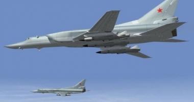 Bombardiere ruseşti, interceptate de SUA aproape de Alaska