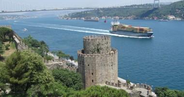 A scăzut numărul tancurilor petroliere în strâmtorile Bosfor şi Çanakkale