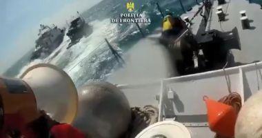 Foto : VIDEO EXPLOZIV / Momentul în care poliţiştii de frontieră ÎI ÎMPUŞCĂ pe braconierii turci