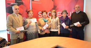 Premii de loialitate de la BRD pentru cinci pensionari constănţeni