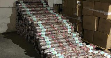 Bunuri contrafăcute în valoare de peste 180.000 lei, confiscate în Portul Constanţa