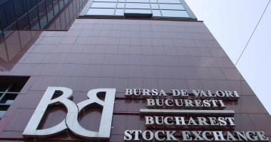 Bursa de Valori Bucureşti e pe minus