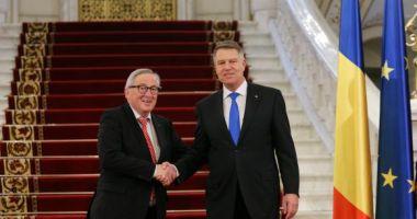 Junker și comisarii europeni, la Cotroceni