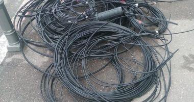 Continuă lucrările de tăiere a cablurilor, la Constanţa
