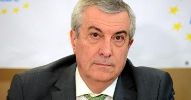 Tăriceanu: Suspendarea preşedintelui Iohannis nu se află pe agenda Coaliţiei